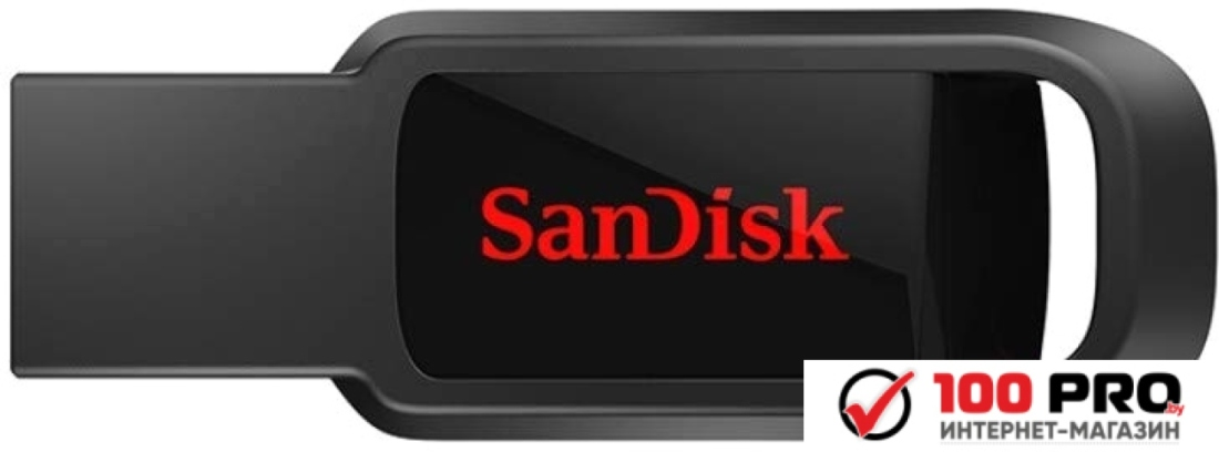 USB Flash SanDisk Cruzer Spark 16GB (черный)