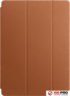 Чехол Apple Leather Smart Cover for iPad Pro Saddle Brown [MPV12]