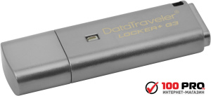 USB Flash Kingston DataTraveler Locker+ G3 64GB (DTLPG3/64GB)