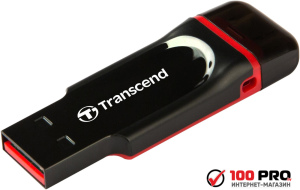USB Flash Transcend JetFlash 340 Black-Red 32GB (TS32GJF340)